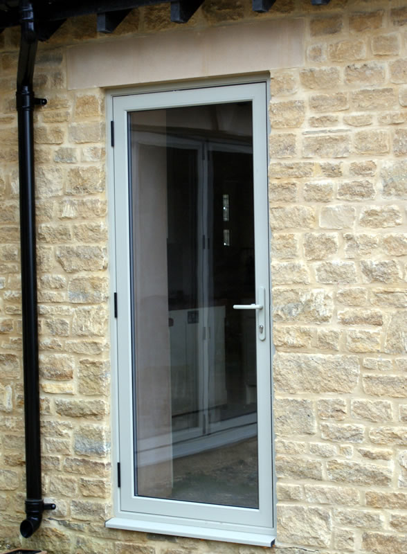 Gallery aluminium products amberley doors and windows for Single door french doors