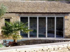 bifolds-by-pool